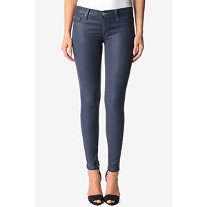 Hudson Krista Super Skinny Coated Jeans